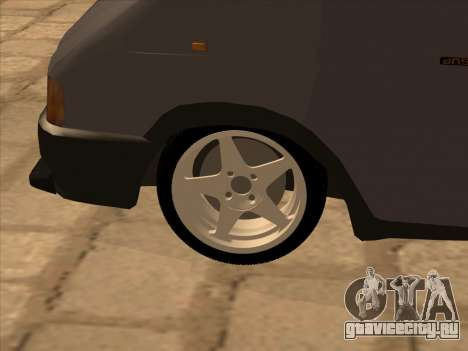 GAZ 32213 Japan DRIFT для GTA San Andreas вид снизу