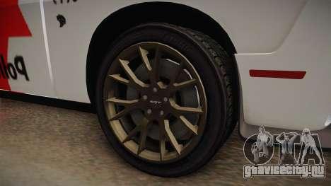 Dodge Challenger Hellcat 2012 PMSP для GTA San Andreas