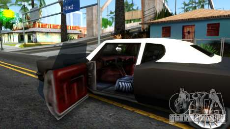 GTA 3 Yardie Lobo для GTA San Andreas вид изнутри