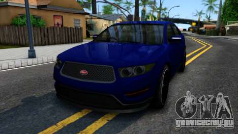 Elegant GTA V ImVehFt для GTA San Andreas
