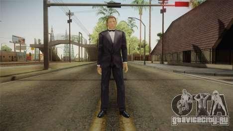 007 James Bond Daniel Craig On Tuxedo для GTA San Andreas второй скриншот