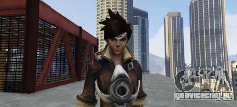 Tracer Overwatch для GTA 5 третий скриншот