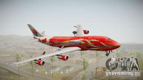 Boeing 747 Malaysia Airlines Hibiscus Livery для GTA San Andreas