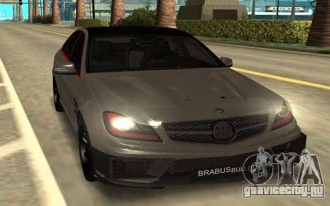 Brabus Bullit Coupe 800 для GTA San Andreas
