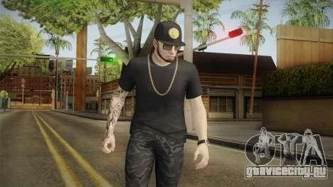 Anuel AA Gorra Versace для GTA San Andreas