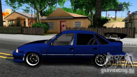 Daewoo Nexia Tuning для GTA San Andreas вид слева