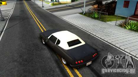 GTA 3 Yardie Lobo для GTA San Andreas вид сзади