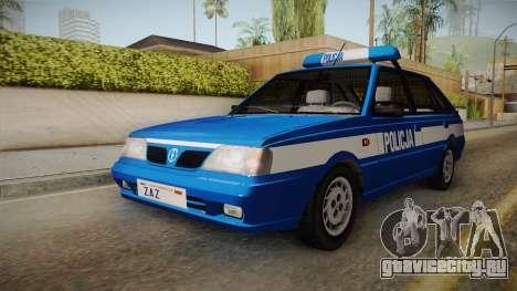 Daewoo-FSO Polonez Caro Plus Policja 1.6 GLi для GTA San Andreas вид справа
