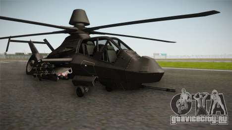 RAH-66 Comanche with Pods для GTA San Andreas