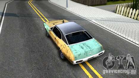 Derby Clover для GTA San Andreas вид сзади