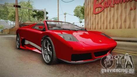 GTA 5 Pegassi Infernus Cabrio для GTA San Andreas