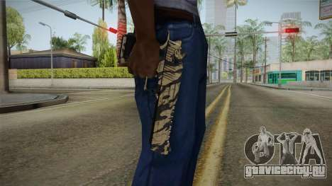 Desert Eagle Black Shark Camo для GTA San Andreas
