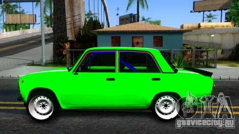 ВАЗ 2101 БК для GTA San Andreas вид слева