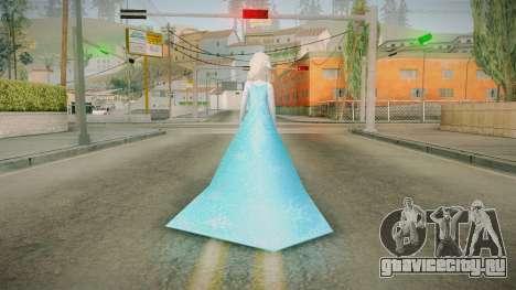Frozen - Elsa v3 для GTA San Andreas третий скриншот