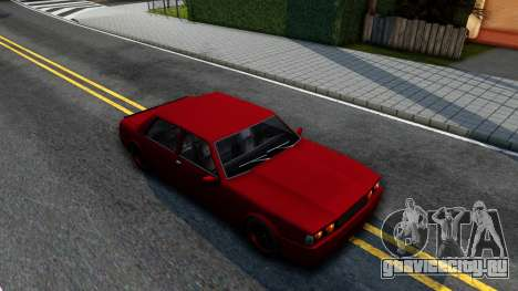 Vincent German Style для GTA San Andreas вид справа