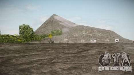 Mount Chiliad Retexture для GTA San Andreas
