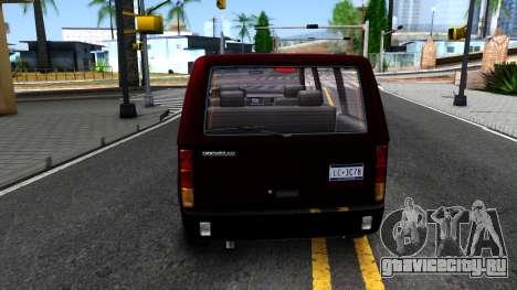 HD Moonbeam для GTA San Andreas вид сзади слева