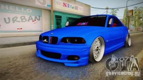 BMW 3 Series E46 Cabrio King для GTA San Andreas