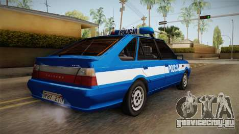 Daewoo-FSO Polonez Caro Plus Policja 1.6 GLi для GTA San Andreas вид слева