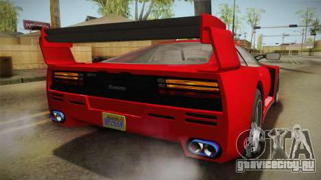 GTA 5 Grotti Turismo Classic IVF для GTA San Andreas двигатель
