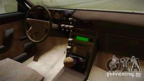 FSO Polonez Atu для GTA San Andreas вид сзади
