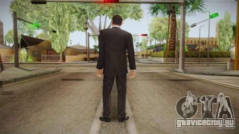007 Sean Connery Cibbert Black Tuxedo для GTA San Andreas третий скриншот