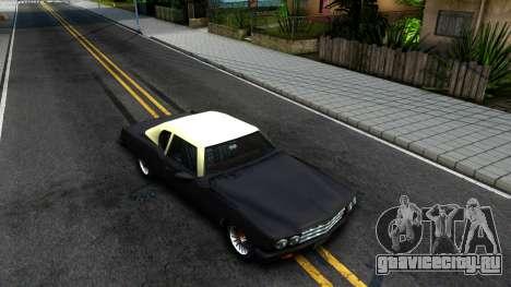 GTA 3 Yardie Lobo для GTA San Andreas вид справа