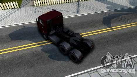 КамАЗ 65115 для GTA San Andreas вид сзади