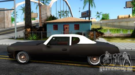 GTA 3 Yardie Lobo для GTA San Andreas вид слева
