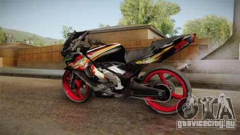 Kawasaki RR 150 для GTA San Andreas вид сзади слева