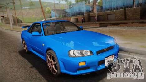 Nissan Skyline GT-R R34 Mk.X для GTA San Andreas