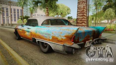 Cadillac Eldorado Brougham 1957 Rusty HQLM для GTA San Andreas вид слева