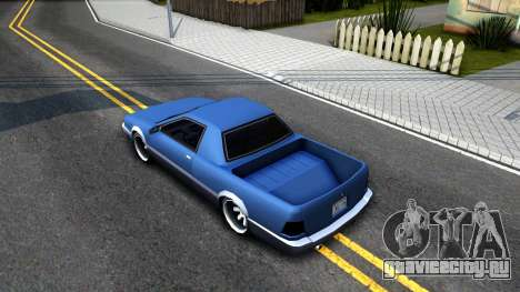 Stratum Pickup для GTA San Andreas вид сзади