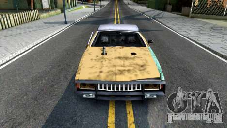 Derby Clover для GTA San Andreas вид изнутри