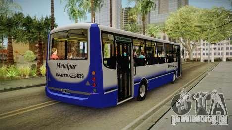 Metalpar Tronador Saeta для GTA San Andreas вид сзади слева