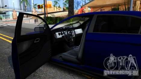 Elegant GTA V ImVehFt для GTA San Andreas вид изнутри