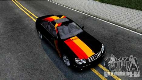 Mercedes-Benz CLK55 AMG 2003 для GTA San Andreas вид справа