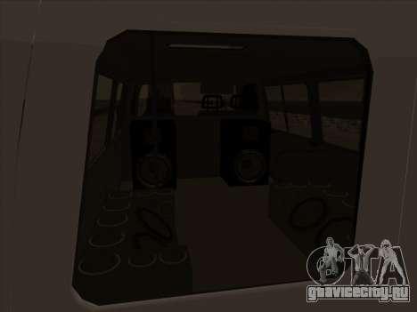 GAZ 32213 Japan DRIFT для GTA San Andreas вид сверху