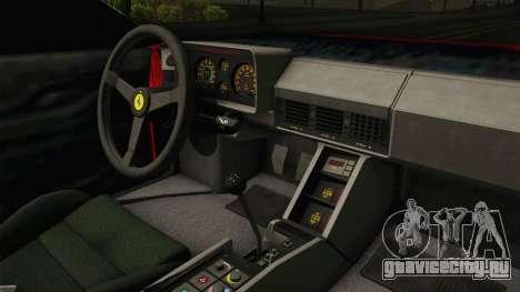 Cheetah Bielakworkshop для GTA San Andreas вид изнутри