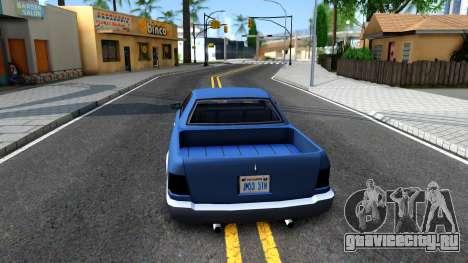 Stratum Pickup для GTA San Andreas вид сзади слева