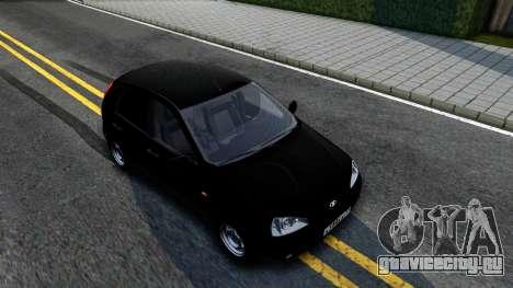 ВАЗ 2119 Калина для GTA San Andreas вид справа