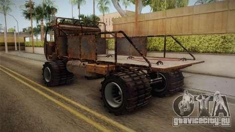 GTA 5 MTL Wastelander IVF для GTA San Andreas вид сзади слева