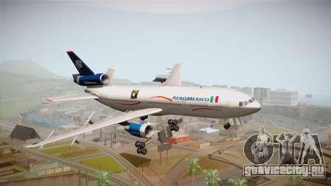 McDonnell-Douglas DC-10 Aeromexico для GTA San Andreas