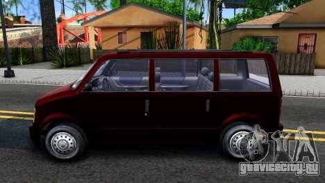 HD Moonbeam для GTA San Andreas вид слева