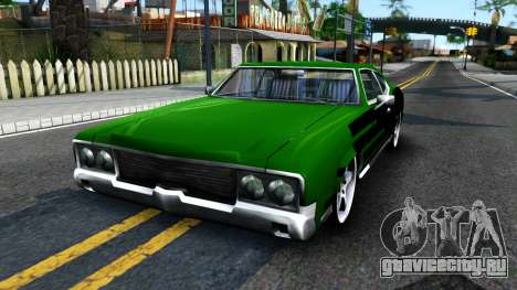 Sabre Drift Green Strips для GTA San Andreas