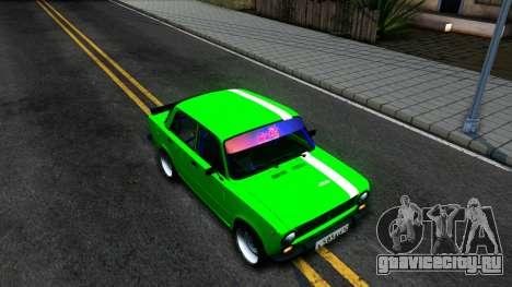 ВАЗ 2101 БК для GTA San Andreas вид справа