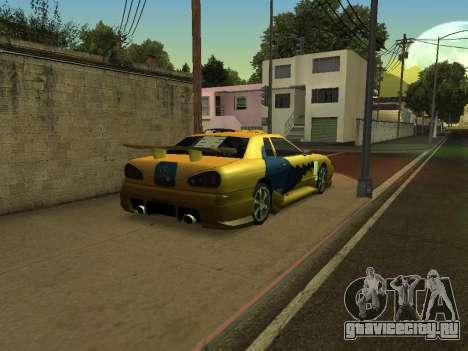Legend566 Paint Job для GTA San Andreas вид справа