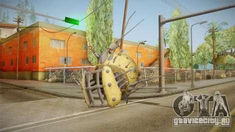 Fallout 4 DLC Automatron - Mechanist Eyebot для GTA San Andreas третий скриншот