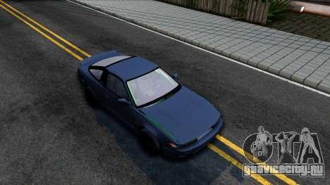 Nissan Silvia Sil80 для GTA San Andreas вид справа