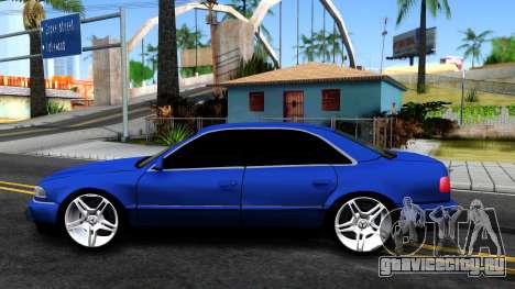 AUDI A8 Long 2002 для GTA San Andreas вид слева